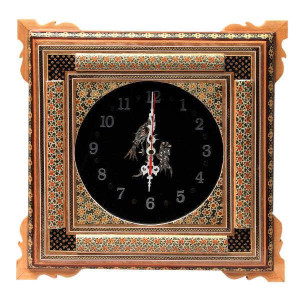 ساعت دیواری خاتم کاری کد 70163