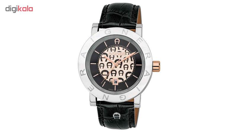 ساعت مچی عقربه ای مردانه اگنر مدل A26004