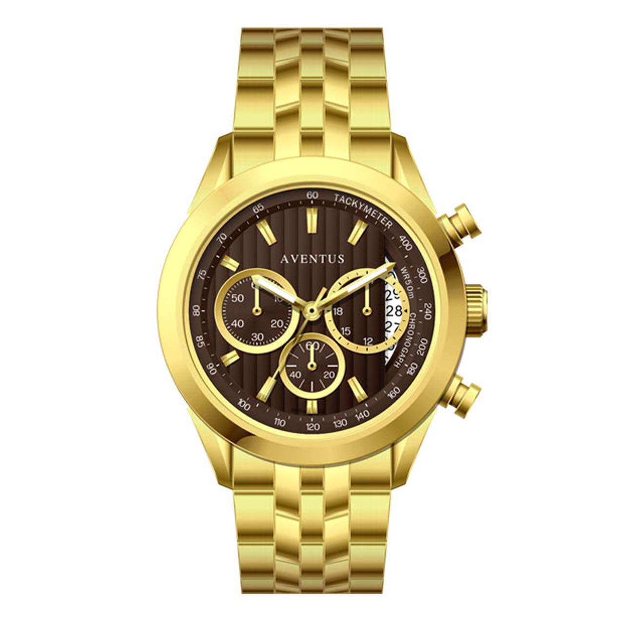 ساعت مچی عقربه ای زنانه اونتوس مدل 1346-2LBR 20