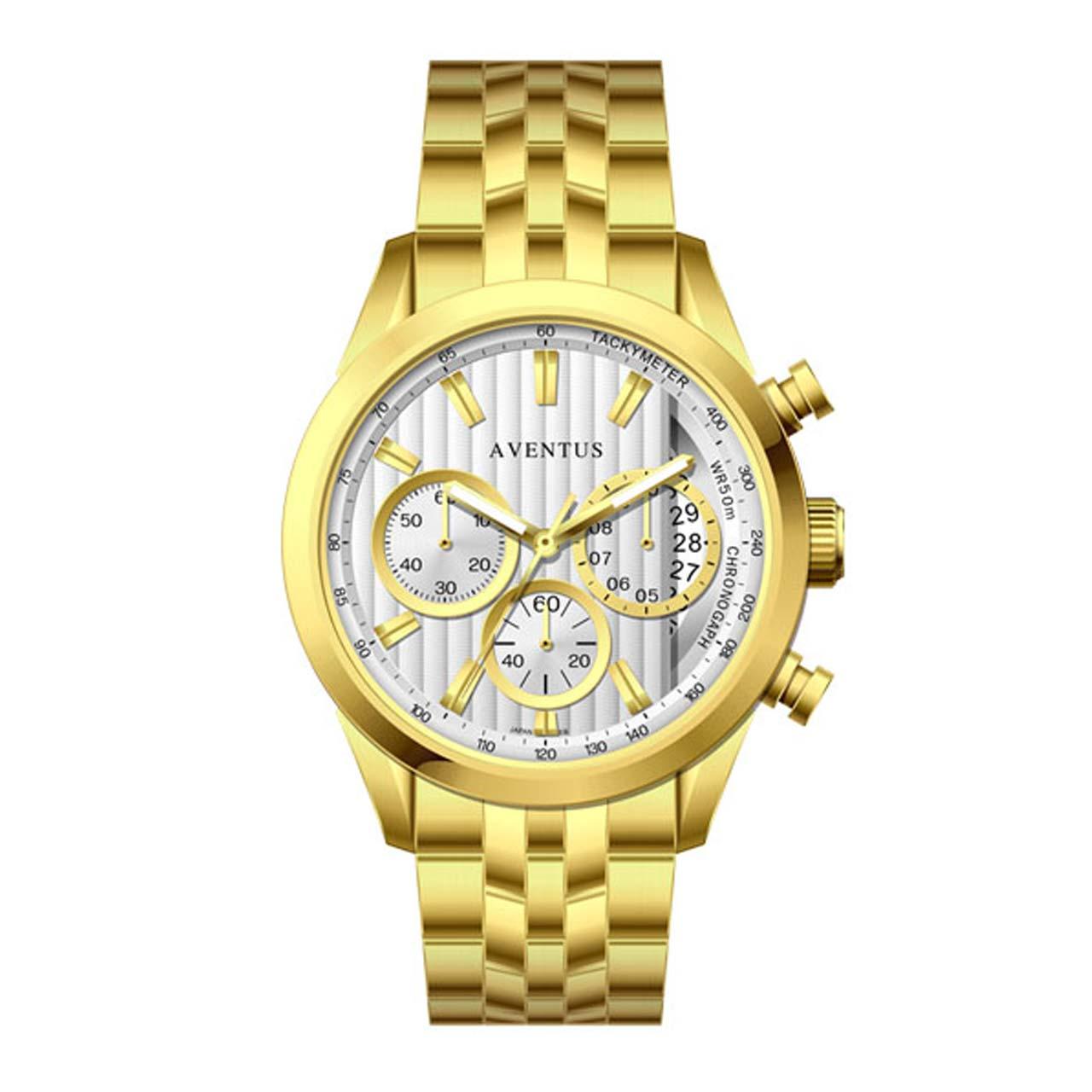ساعت مچی عقربه ای زنانه اونتوس مدل 1346-2LWH 21