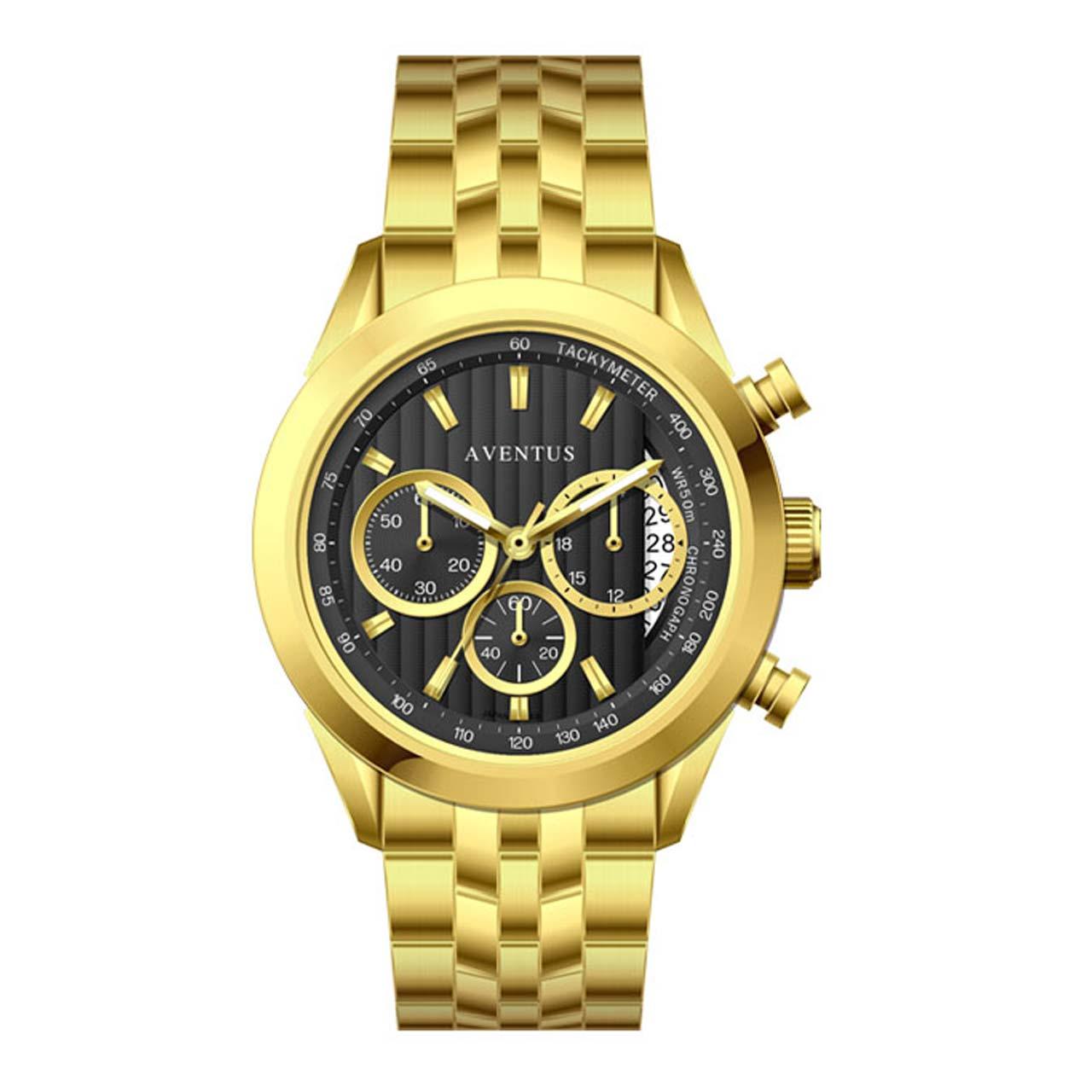 ساعت مچی عقربه ای زنانه اونتوس مدل 1346-2LBK