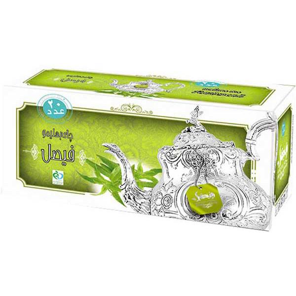 چای به لیمو کیسه ای فیصل مدل Verbena Tea بسته 40 عددی