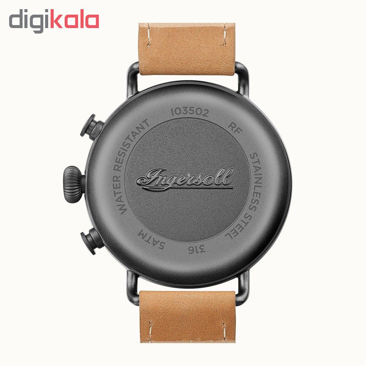 ساعت مچی عقربه ای مردانه اینگرسل مدل I03502