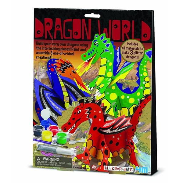 کیت آموزشی 4ام مدل Dragon World 03825