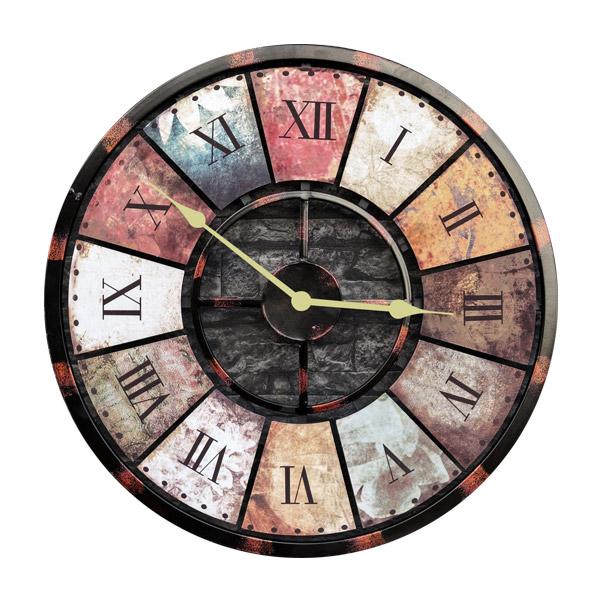ساعت دیواری طرح آنتیک کد 130