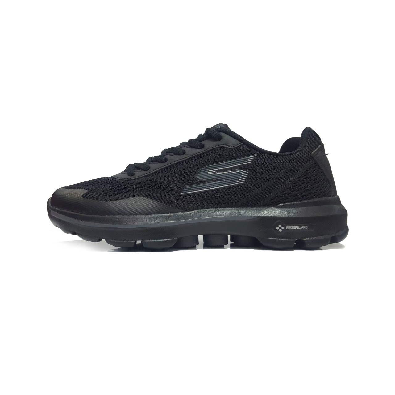 کفش مخصوص پیاده روی مردانه اسکچرز مدل go walk 3 pilars-Black