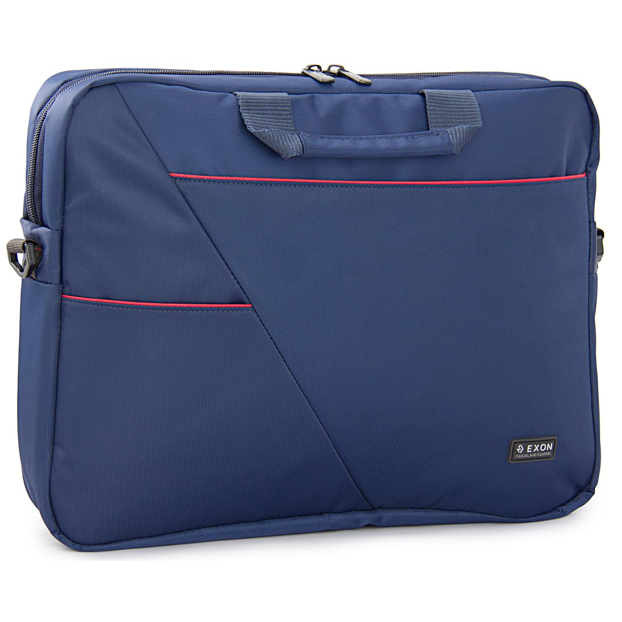 کیف لپ تاپ اکسون مدل منهتن مناسب برای لپ تاپ 15.6 اینچی