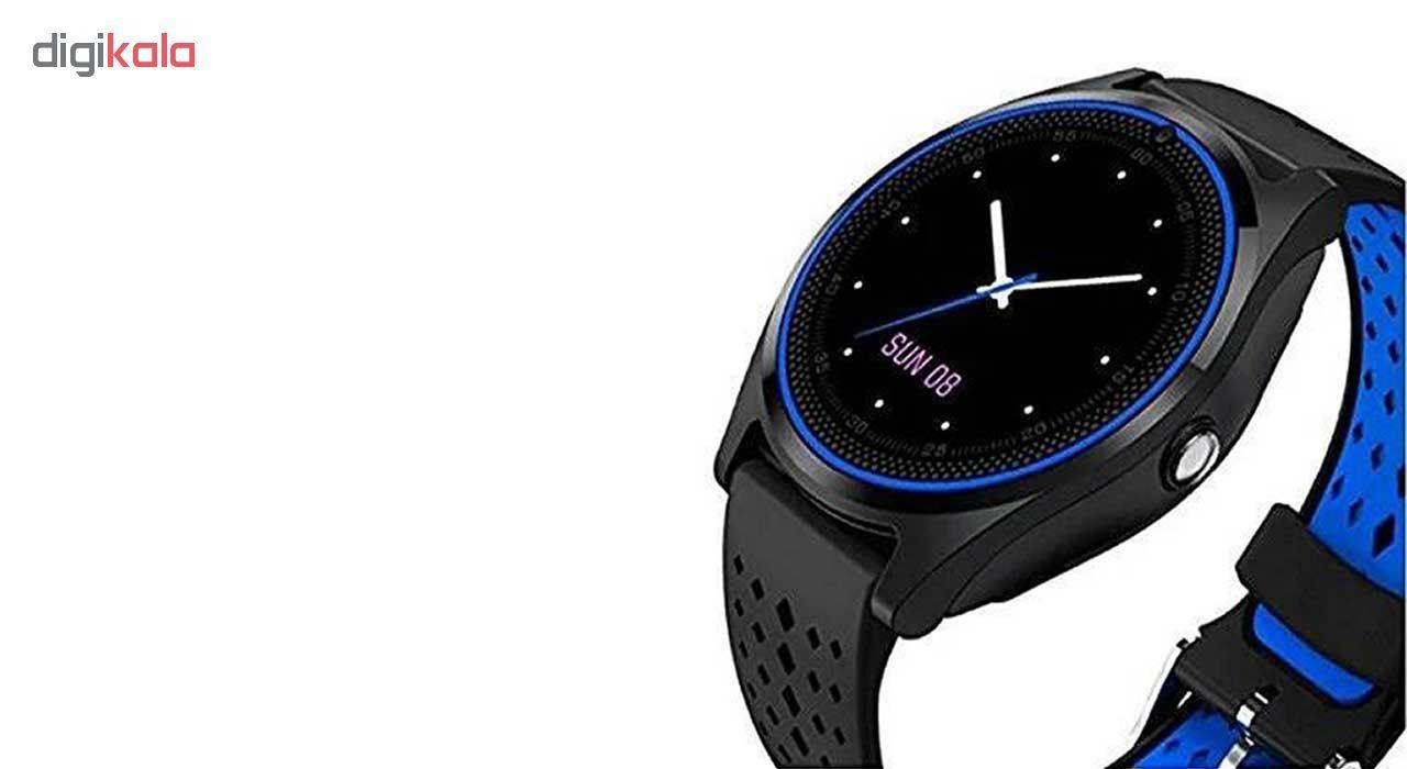 ساعت مچی هوشمند مدل V9 همراه محافظ صفحه نمایش شیدتگ main 1 6