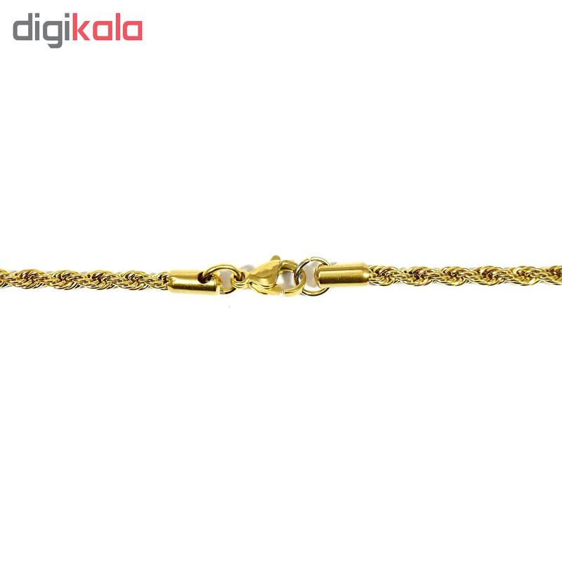 زنجیر زنانه آی جواهر کد 11643G