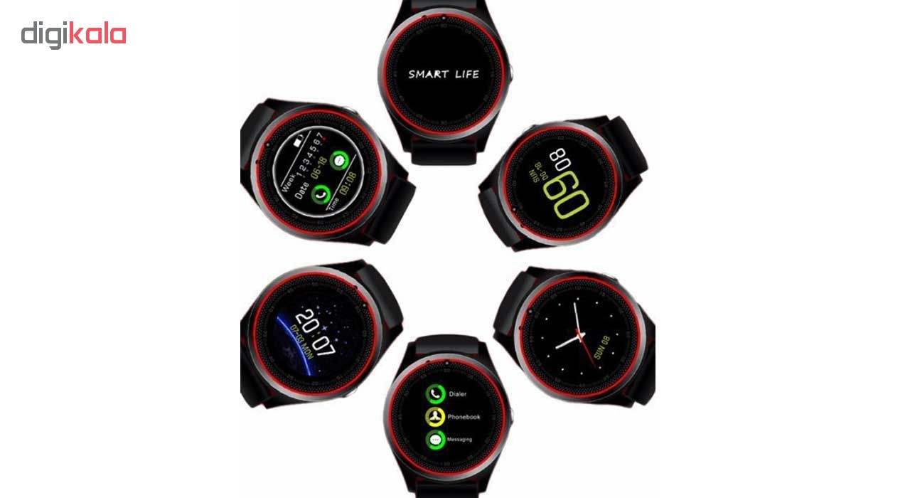 ساعت مچی هوشمند مدل V9 همراه محافظ صفحه نمایش شیدتگ main 1 11