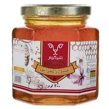 عسل زعفرانی شیگوار مقدار 400 گرم