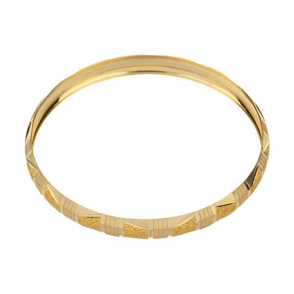 النگو طلا 18 عیار زنانه گالری یارطلا کد AL53-G-1