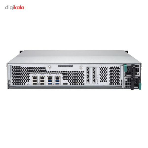 ذخیره ساز تحت شبکه کیونپ مدل TS-EC1280U-RP بدون هارددیسک