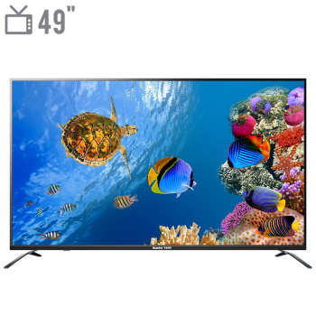 تلویزیون ال ای دی هوشمند مستر تک مدل MT-490USEB سایز 49 اینچ