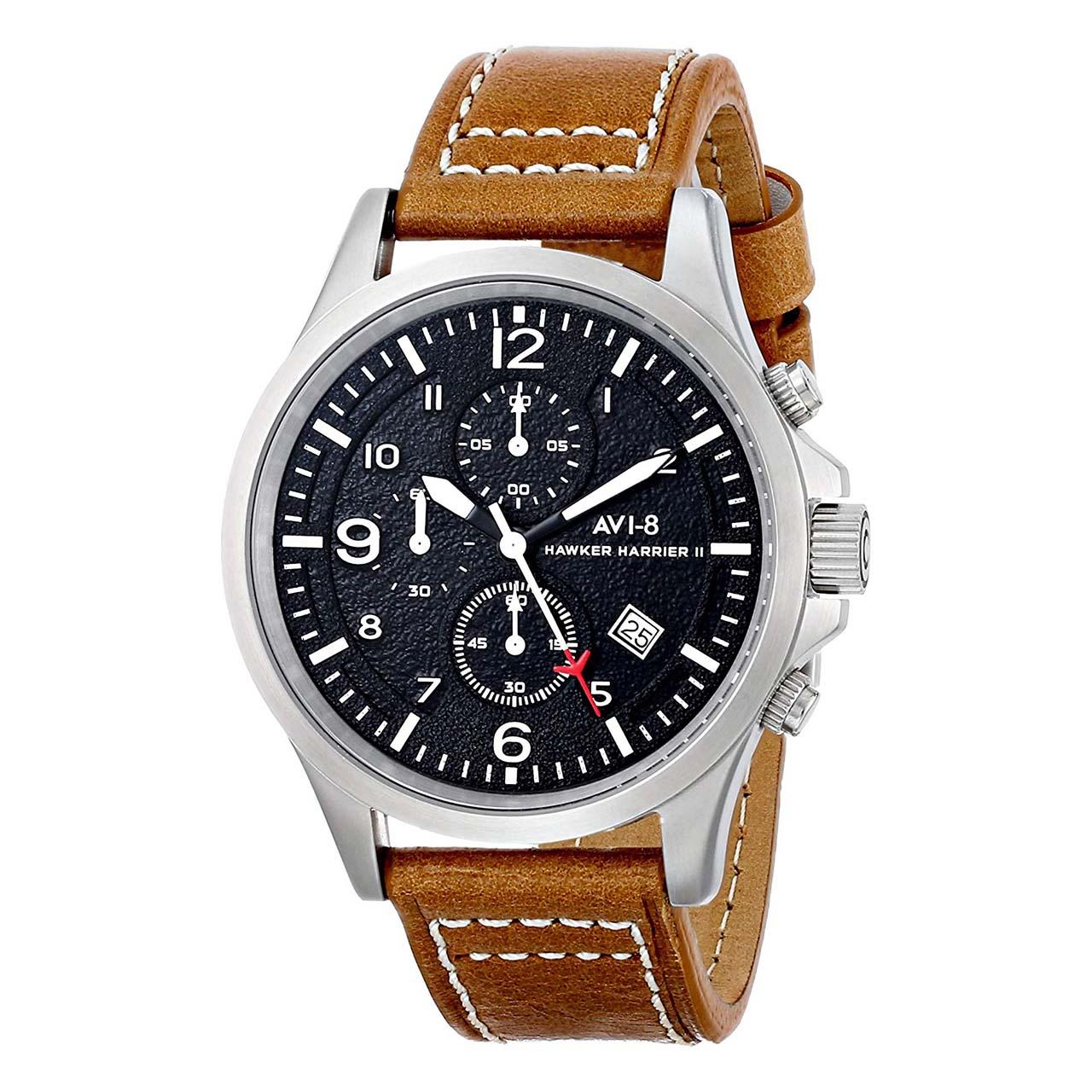 ساعت مچی عقربه ای مردانه ای وی-8 مدل AV-4001-02