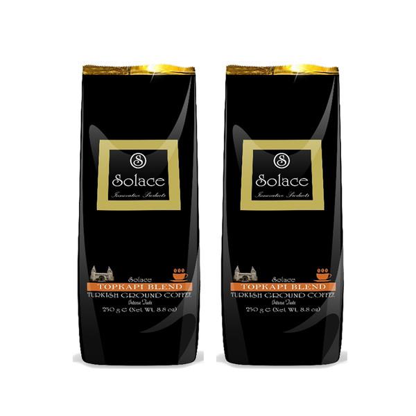 قهوه ترک سولیس مدل TOPKAPI BLEND مجموعه 2 عددی