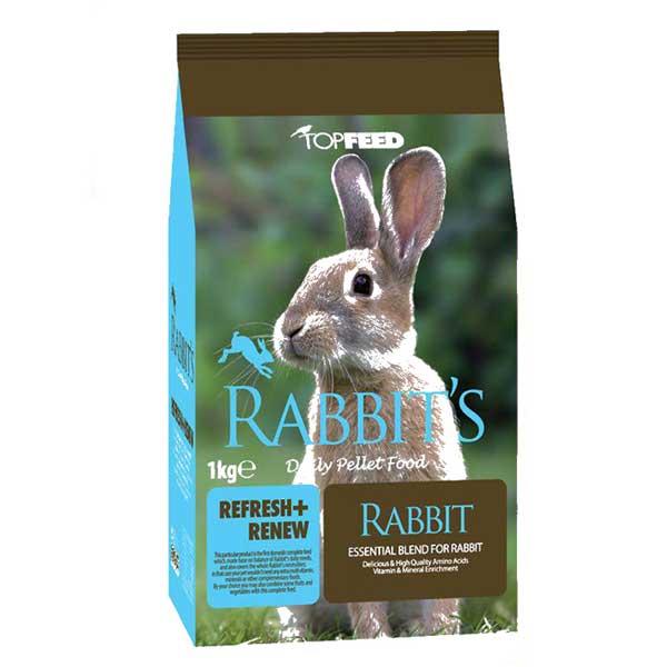غذای خرگوش تاپ فید کد 0011 مقدار 1 کیلوگرم
