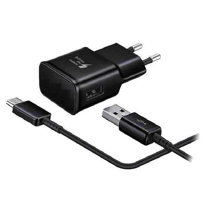 شارژر دیواری مدل EP-TA20EBE همراه با کابل USB Type C