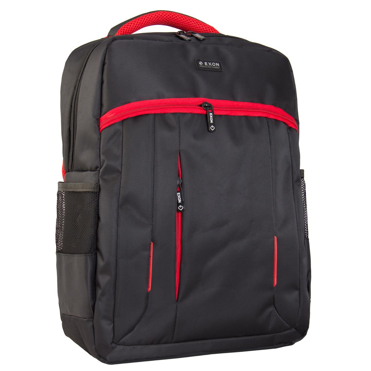 کیف لپ تاپ کوله پشتی اکسون مدل نوا مناسب برای لپ تاپ 15.6 اینچی