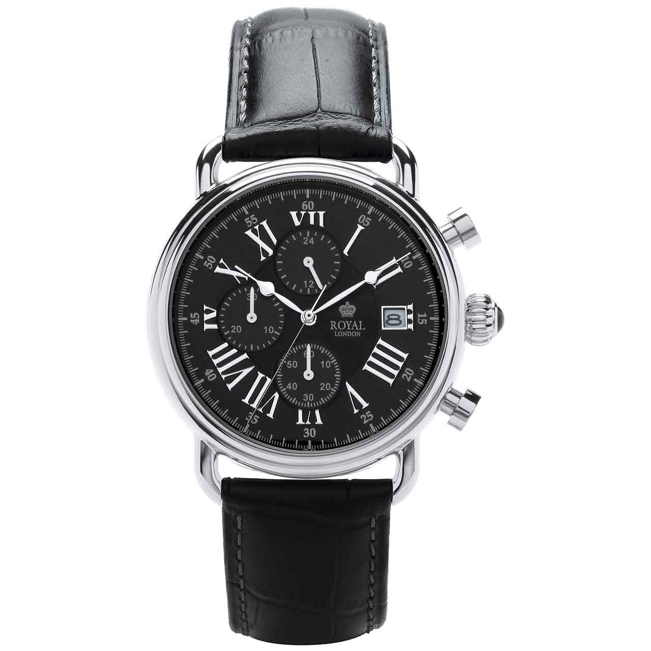 ساعت مچی عقربه ای مردانه رویال لندن مدل RL-41249-01 51
