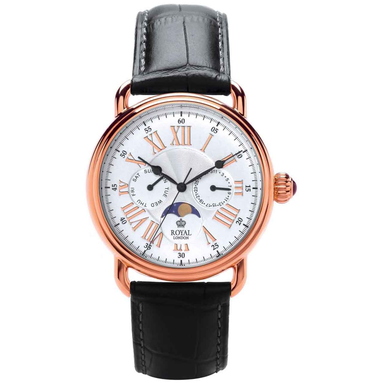 ساعت مچی عقربه ای مردانه رویال لندن مدل RL-41250-05 22