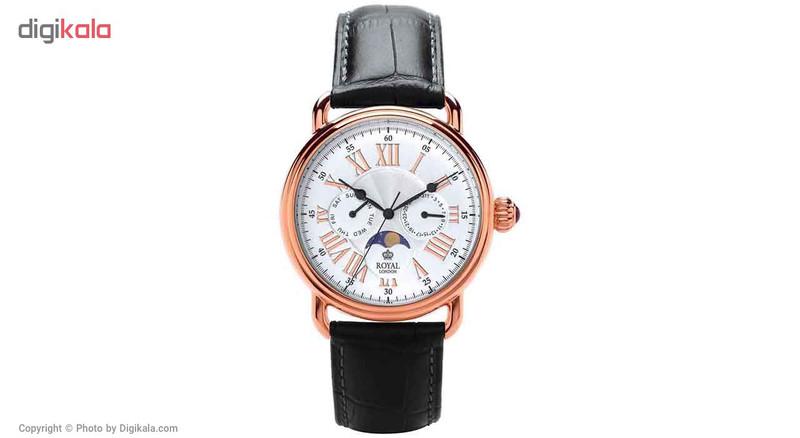 ساعت مچی عقربه ای مردانه رویال لندن مدل RL-41250-05