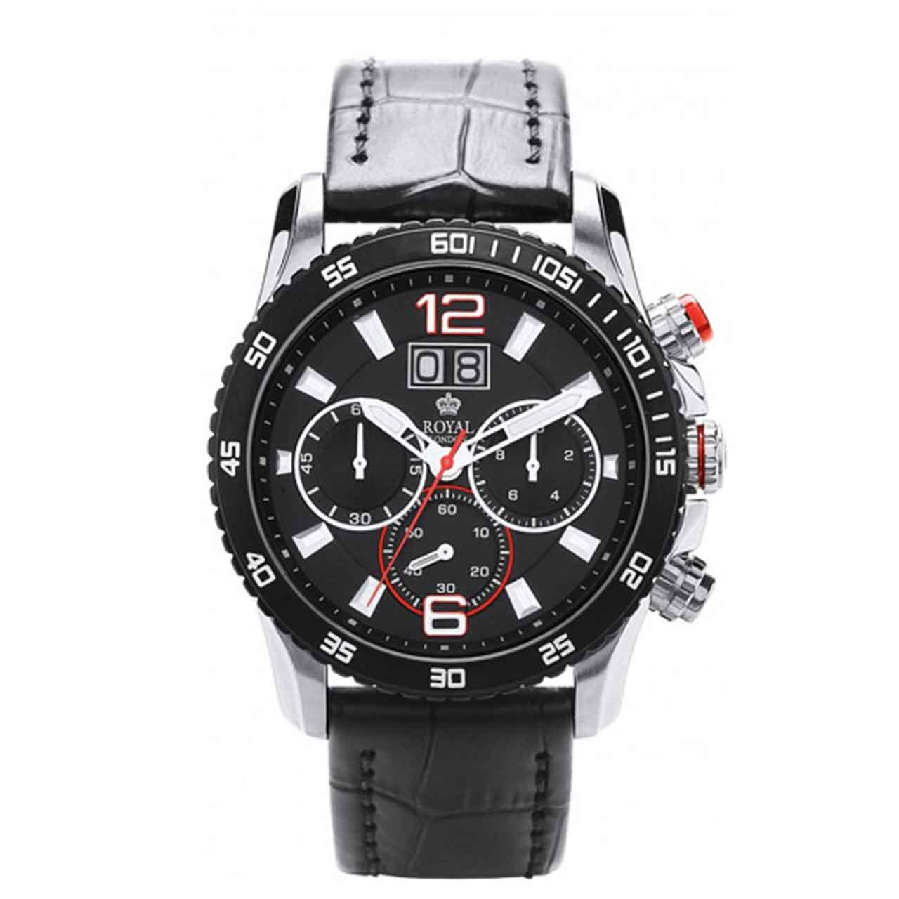 ساعت مچی عقربه ای مردانه رویال لندن مدل RL-41271-01