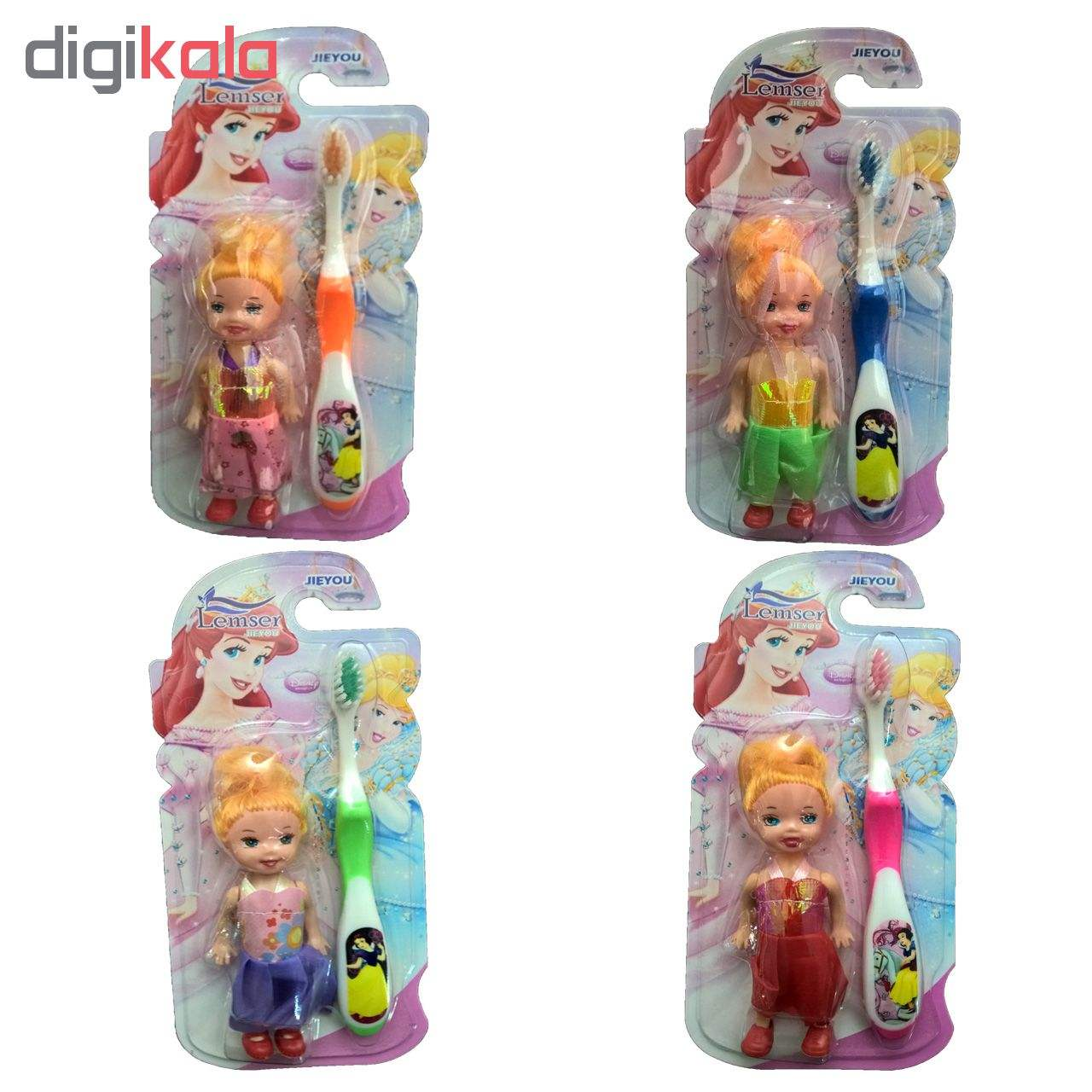 مسواک کودک لمسر به همراه عروسک مدل M01 main 1 2