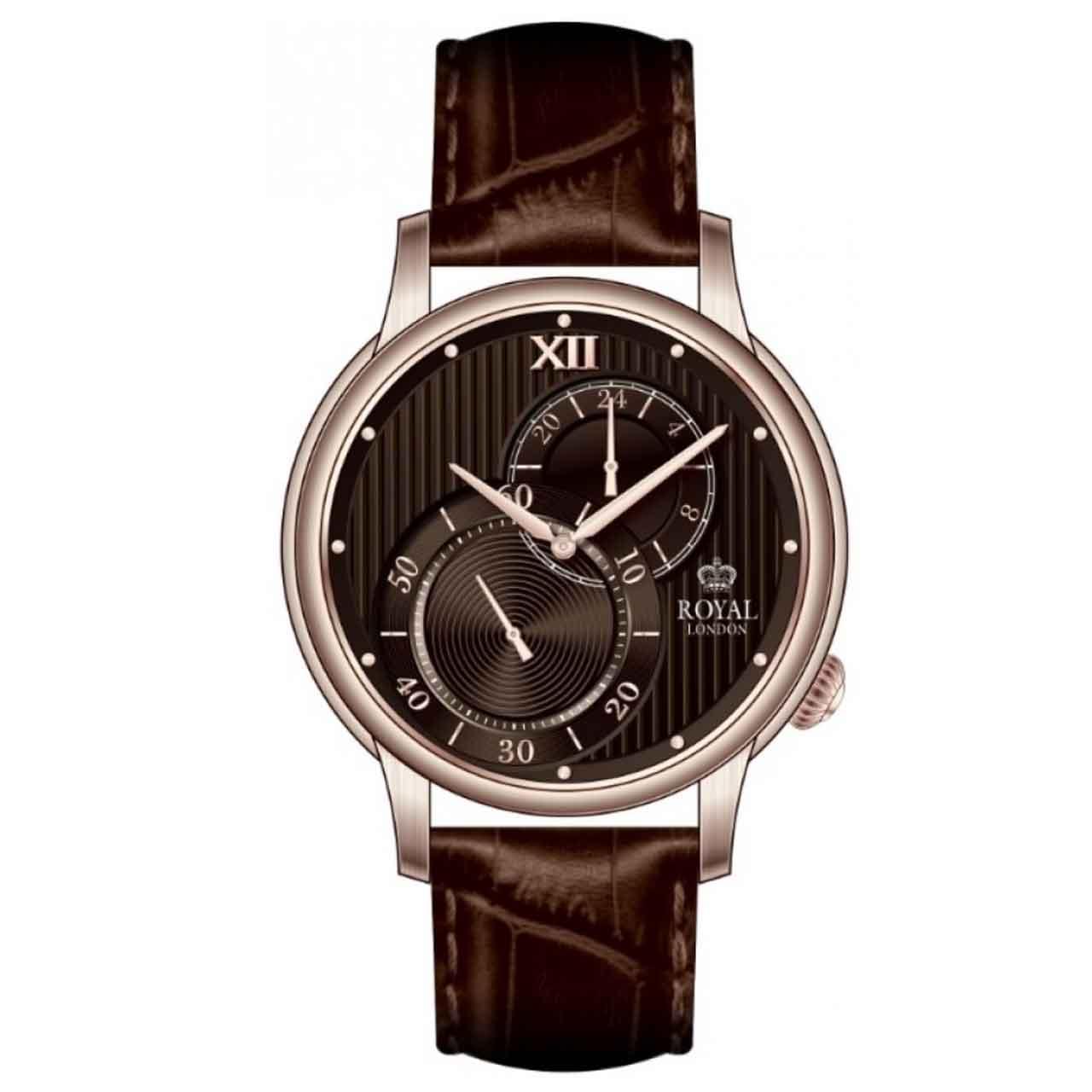 ساعت مچی عقربه ای مردانه رویال لندن مدل RL-41303-04 20