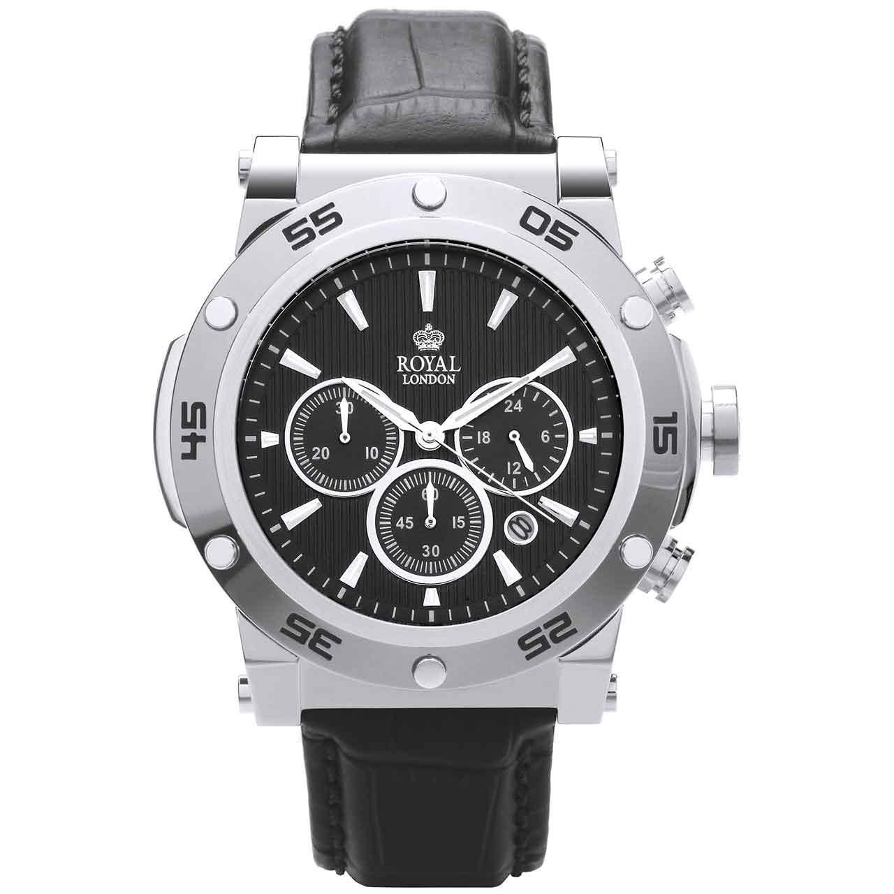 ساعت مچی عقربه ای مردانه رویال لندن مدل RL-41304-01