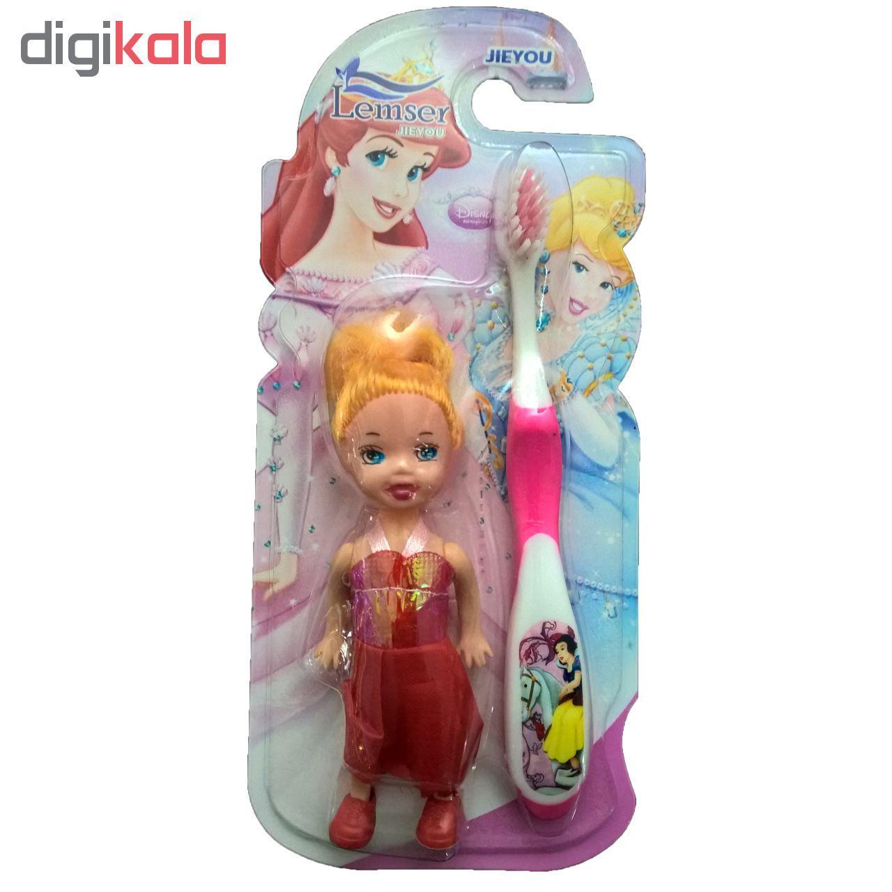 مسواک کودک لمسر به همراه عروسک مدل M01 main 1 4