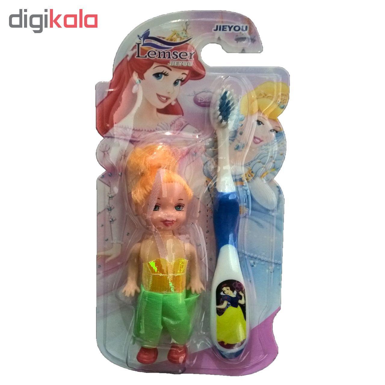 مسواک کودک لمسر به همراه عروسک مدل M01 main 1 5
