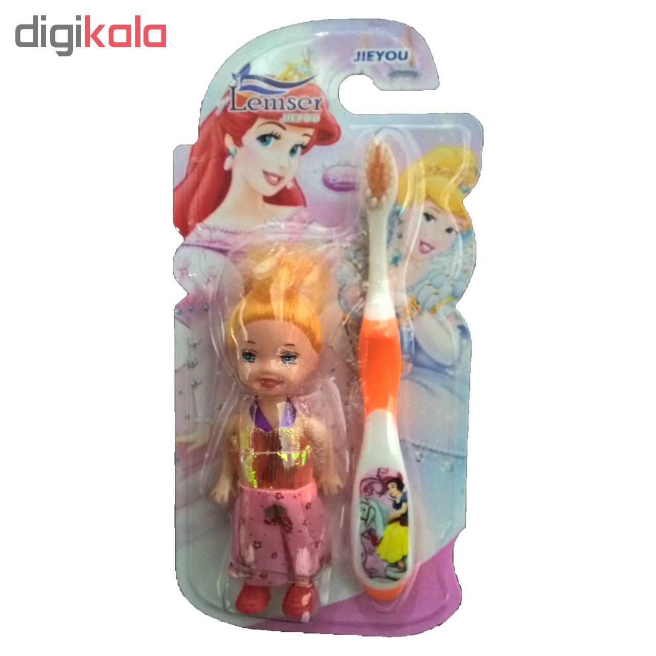 مسواک کودک لمسر به همراه عروسک مدل M01 main 1 6