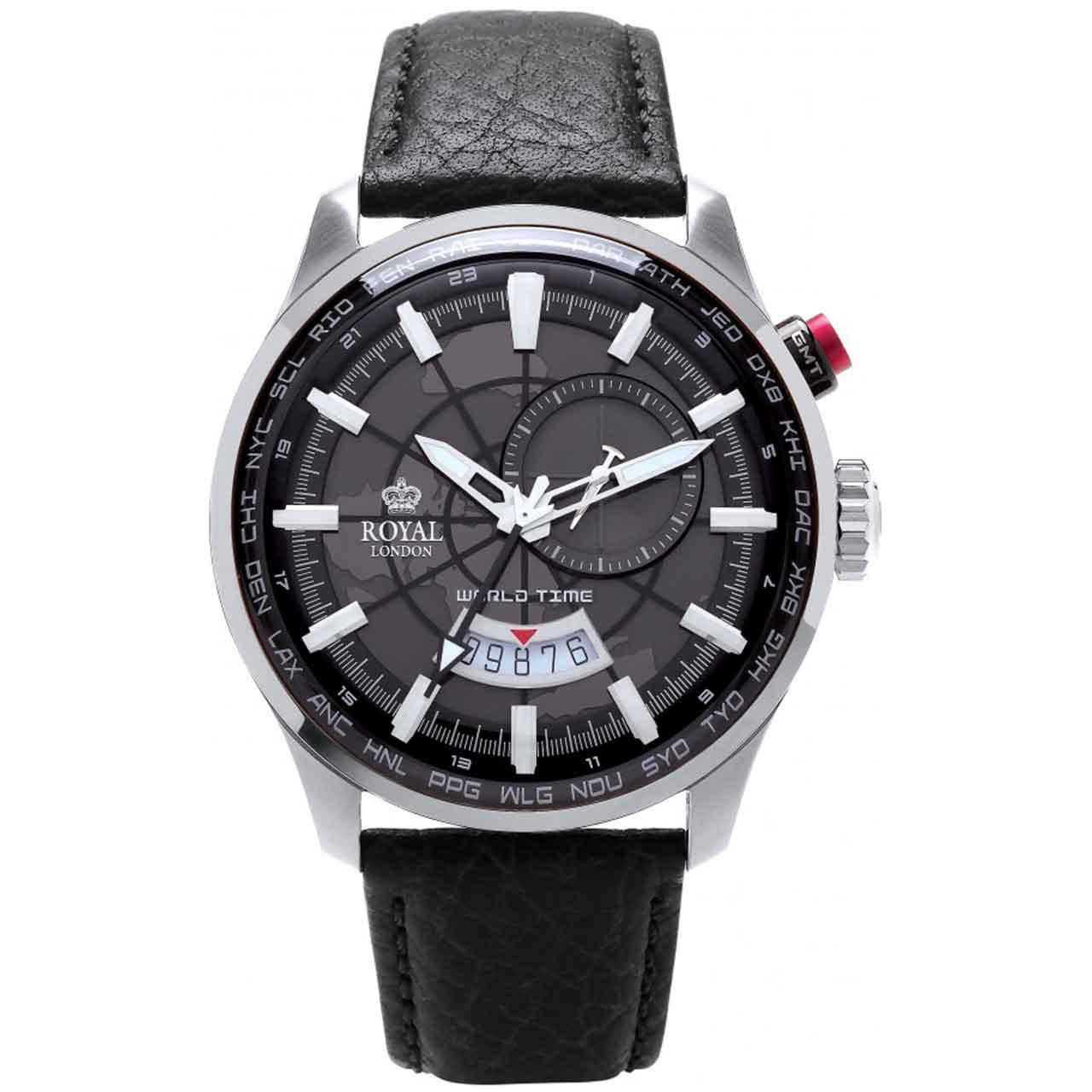 ساعت مچی عقربه ای مردانه رویال لندن مدل RL-41350-01 43