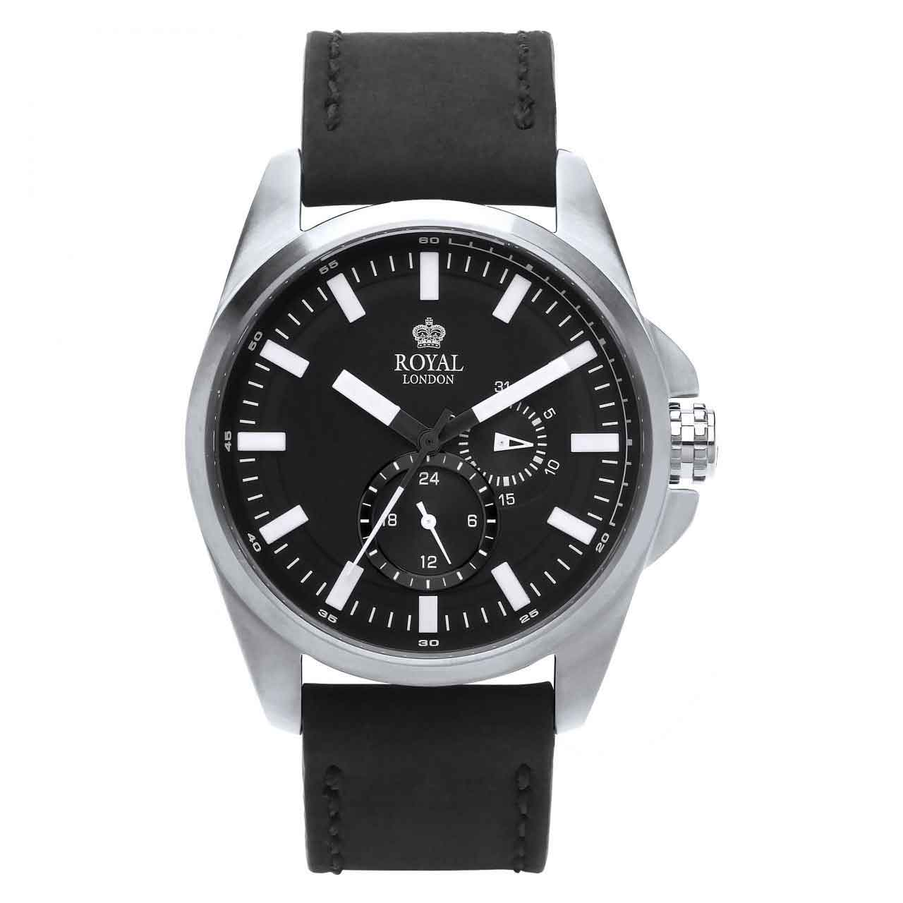ساعت مچی عقربه ای مردانه رویال لندن مدل RL-41356-01 6