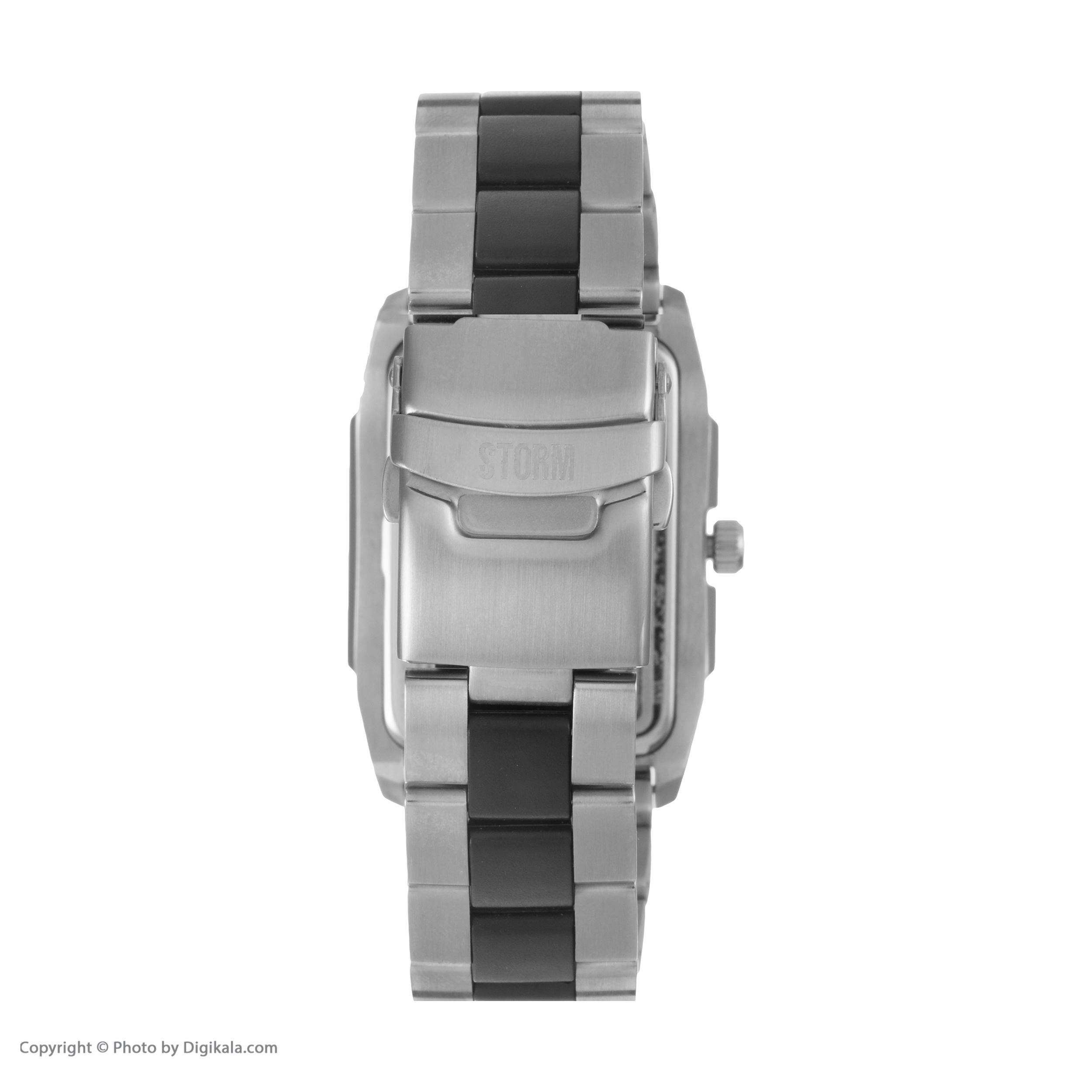 ساعت مچی عقربه ای مردانه استورم مدل ST 47138-BK -  - 5