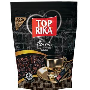 قهوه فوری تاپریکا مدل Classic بسته 40 عددی