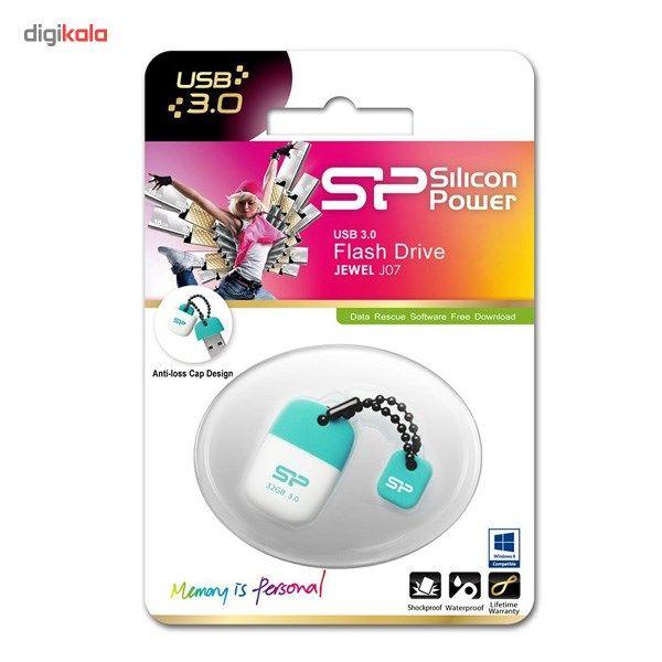 فلش مموری USB 3.0 سیلیکون پاور مدل Jewel J07 ظرفیت 64 گیگابایت main 1 2