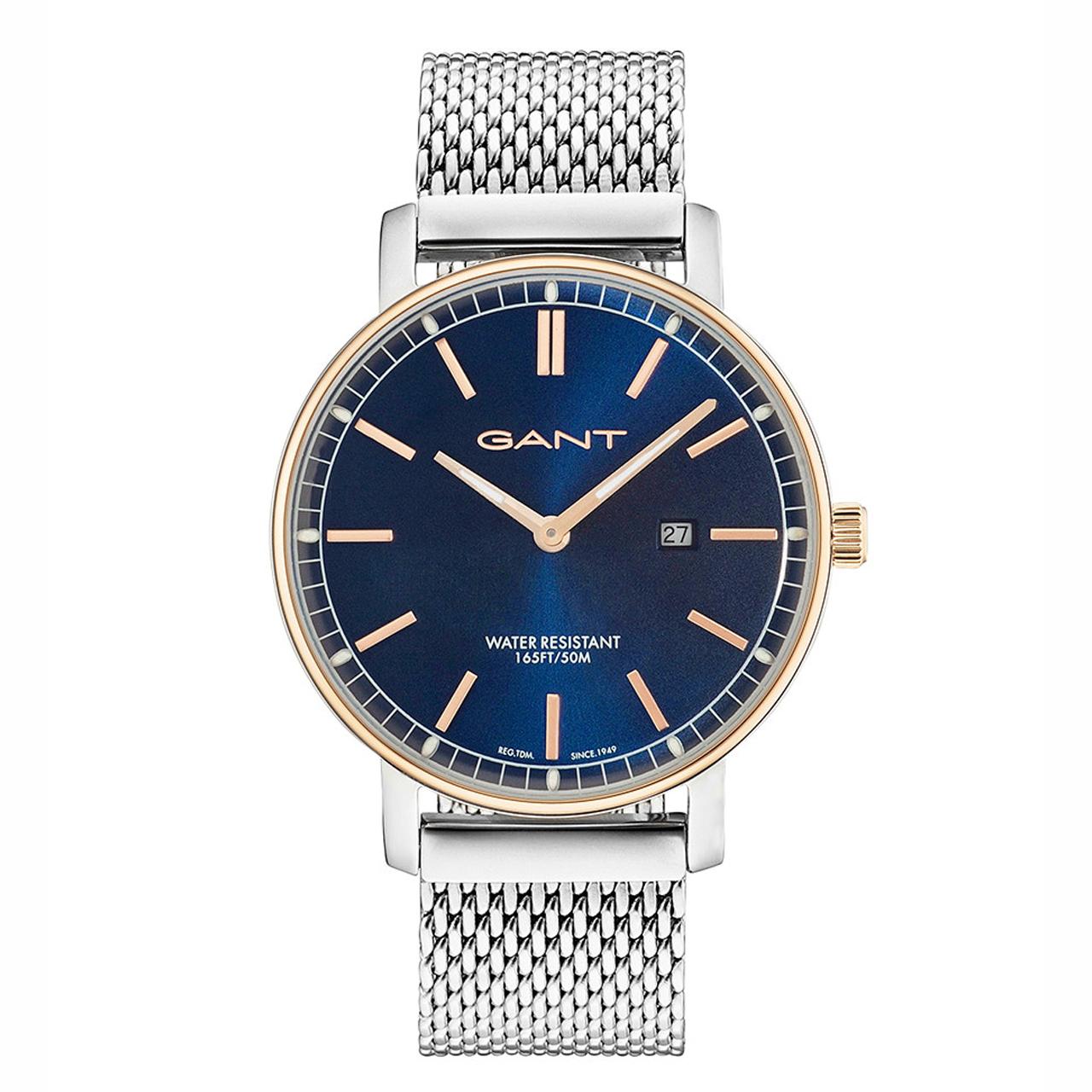 ساعت مچی عقربه ای مردانه گنت مدل GW006018