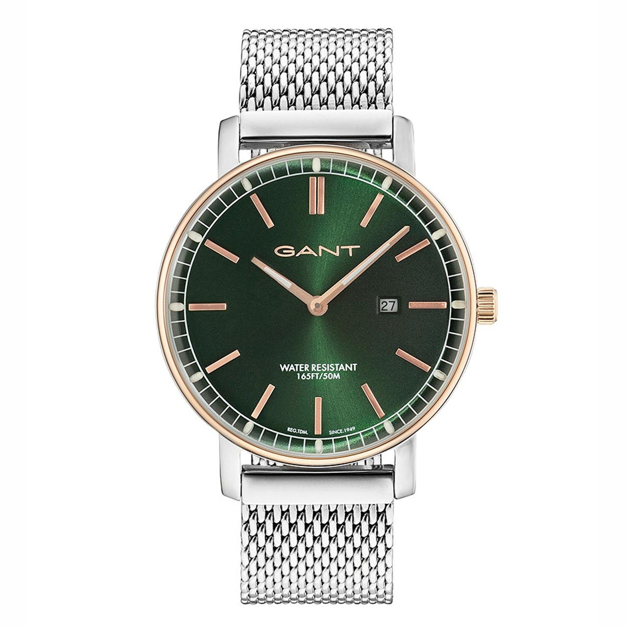 ساعت مچی عقربه ای مردانه گنت مدل GW006017