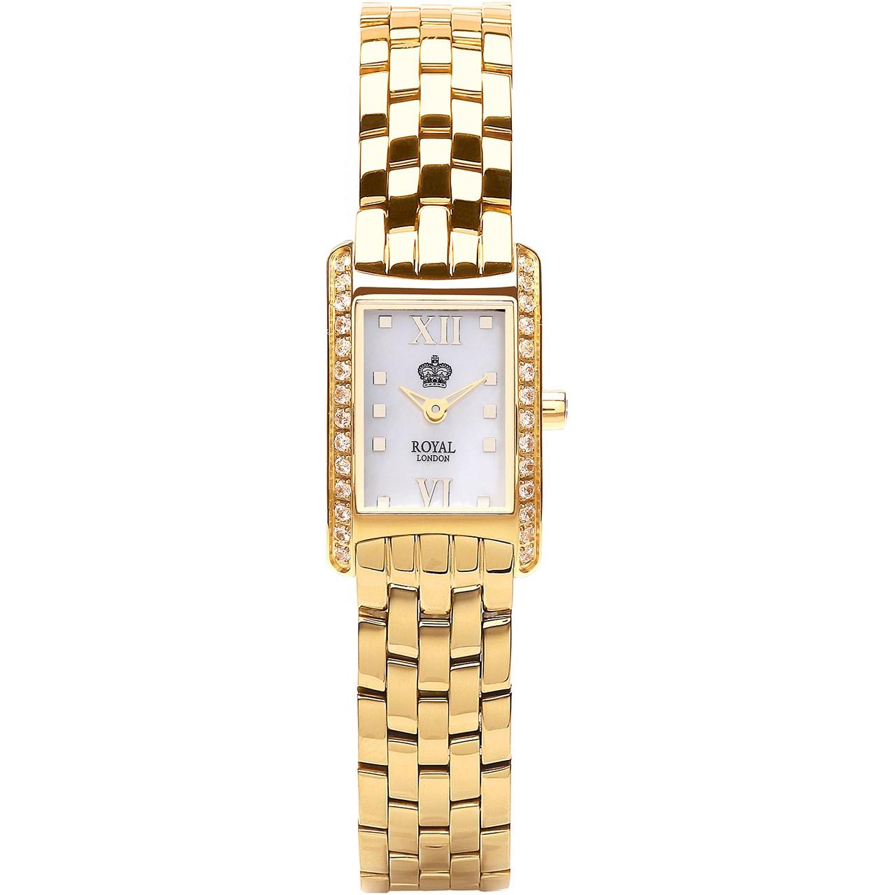 ساعت مچی عقربه ای زنانه رویال مدل RL-21167-06