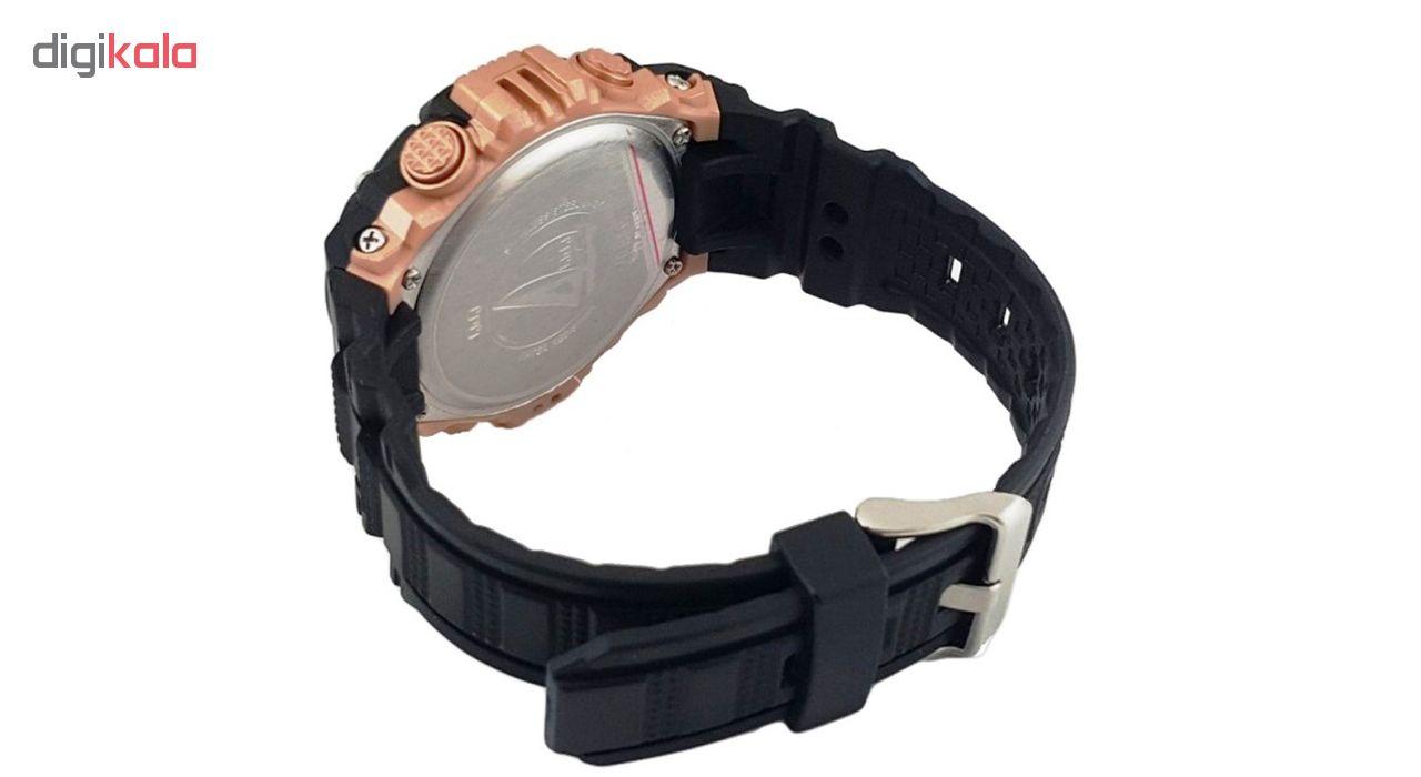 ساعت مچی دیجیتالی کیو اند کیو مدل m146j008y به همراه دستمال مخصوص برند کلین واچ             قیمت