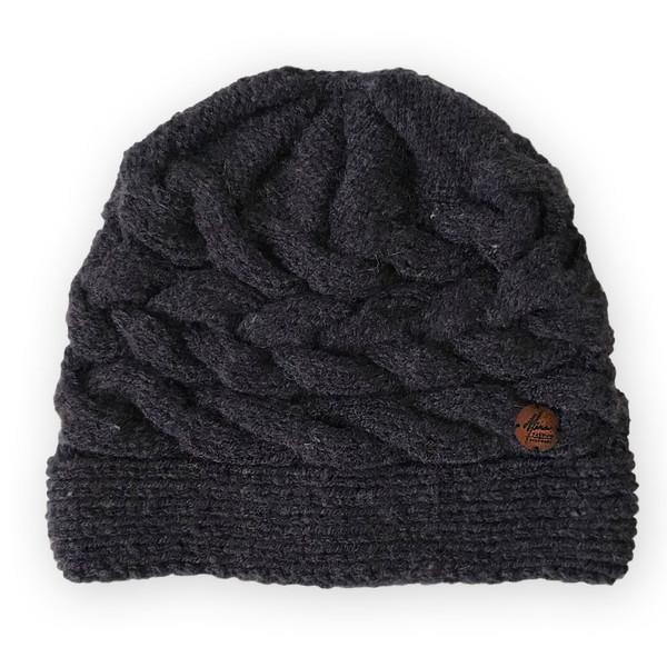 کلاه خانه مد میرا مدل NavyBlue Mixed Weave