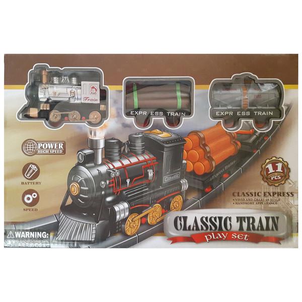 قطار اسباب بازی مدل CLASSIC TRAIN کد 314