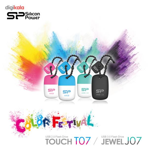 فلش مموری USB 3.0 سیلیکون پاور مدل Jewel J07 ظرفیت 64 گیگابایت main 1 5