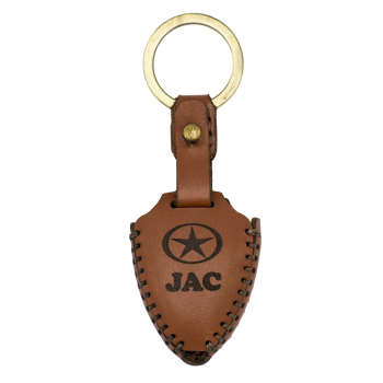 جاسوئیچی خودرو چرم طبیعی کد ct-153 مناسب برای جک J5 (عرضه کالا)