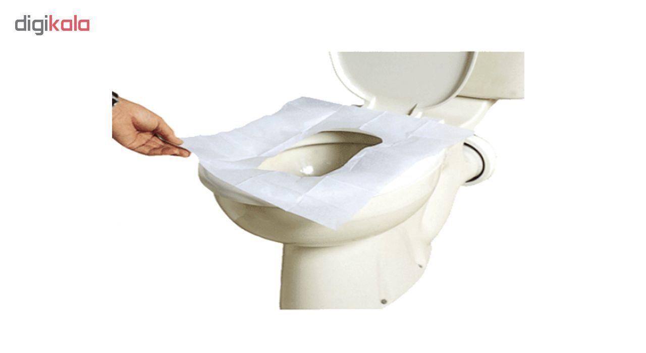 کاور یکبار مصرف توالت فرنگی بسته 20 عددی main 1 1