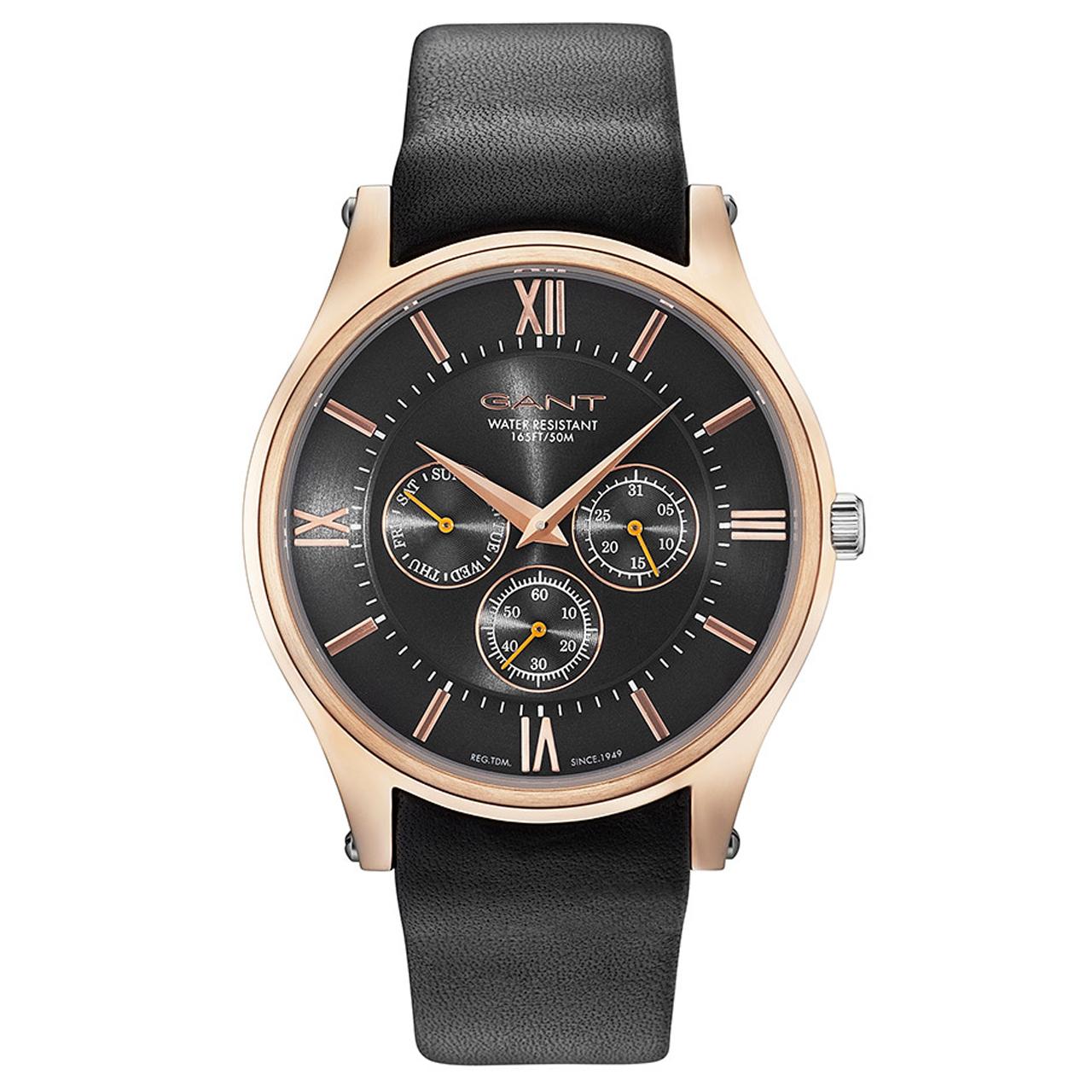ساعت مچی عقربه ای مردانه گنت مدل GW001017