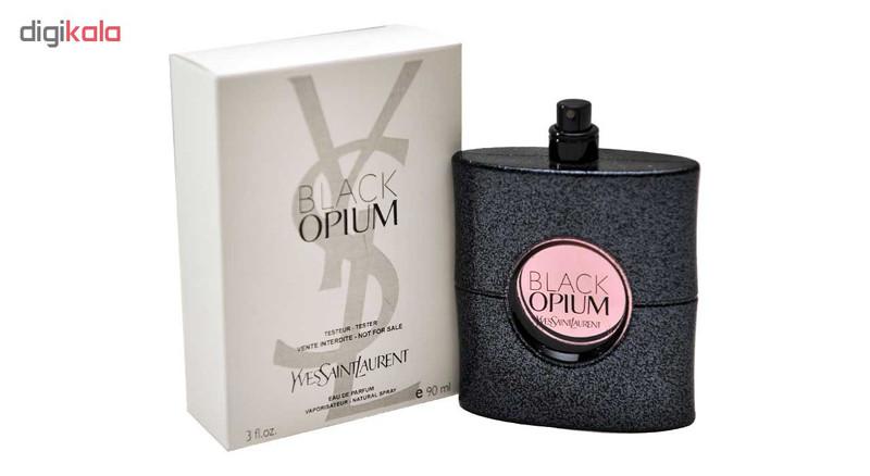 تستر ادوپرفیوم زنانه ایو سن لوران مدل Black Opium حجم 90 میلیلیتر