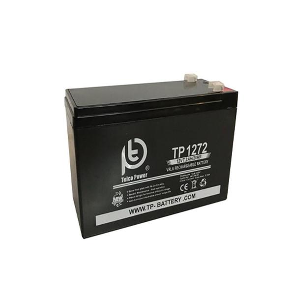 باتری 12 ولت 7.2 آمپر تلکو پاور مدل TP 12-7.2